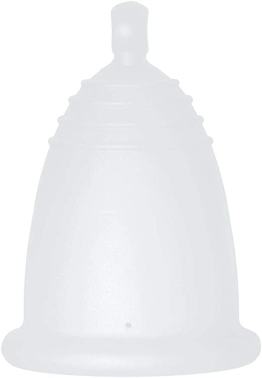 MeLuna Classic Copa Menstrual, Bola, Transparente, Talla S - 1 Unidad