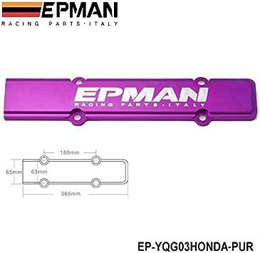Engine Spark Plug Wire Valve Cover For Honda Civic B Series Acura Vtec Red