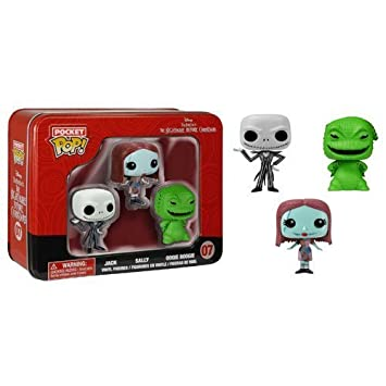 Amazon.com: The Nightmare Before Christmas Pocket Pop! Mini Vinyl ...