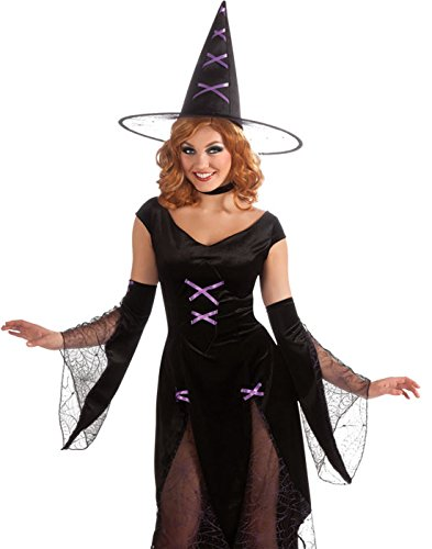 Rubie's Costume Halloween Sensations Madonna Of Salem Costume, Black, (Madonna Dress Up Costumes)