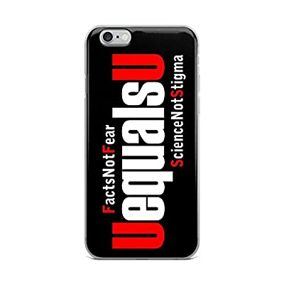 HIV Undetectable Equals Untransmittable UequalsU iPhone Cell Phone Case