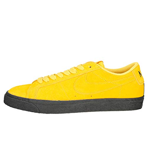 NIKE Blazer Homme 001 SB Basses black Low Yellow Ochre Yellow Sneakers Multicolore Ochre Zoom rErOqwY