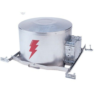 Lightolier 2004ICV Low Voltage IC Airseal 3-3/4 Inch Frame-In Kit 120 Volt 12 Volt Lamp MR16 Lytecaster