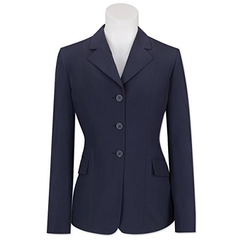 (Ladies RJ Classics Xtreme Collection Show Coat - Navy Solid w/ Navy Lining 6 Regular)