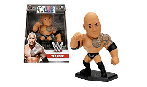 NEW 4'' JADA TOYS ACTION FIGURE COLLECTION - WWE THE ROCK (M211) Action Figures By Jada Toys by ACTION FIGURE By JadaToys