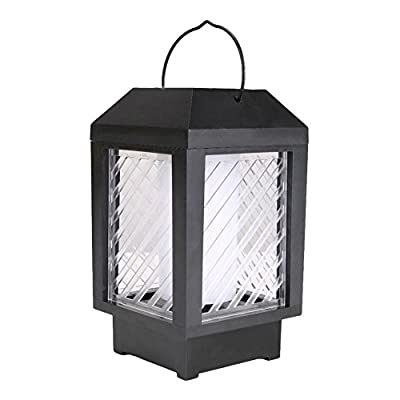 WinnerEco LED Warm Lamp, 96LED Solar Flame Flickering Garden Lamp Light Outdoor Landscape Decor Lamp