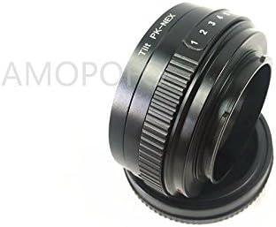 PK-NEX inclinación adaptador Para Pentax P//K Lente A5100 A6000 A3000 5T Sony E 3 5N VG10