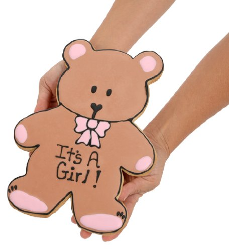 Giant New Baby Bear Sugar Cookie by Lady Fortunes