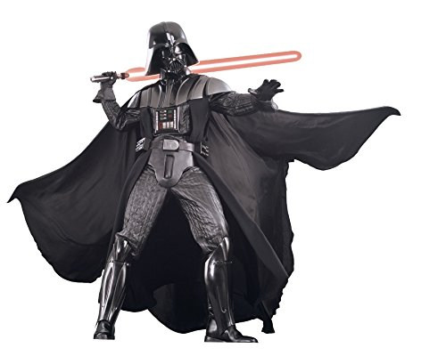 [UHC Men's Marvel Supreme Edition Collector Darth Vader Fancy Costume, Standard (36-44)] (Supreme Edition Darth Vader Adult Costumes)