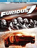 Furious 7: Exclusive Steelbook Edition (Blu-ray, DVD + Digital HD)