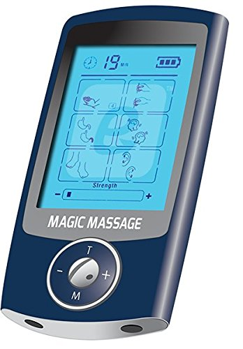 Magic Massage Ultra Electric Pulse Massager with TENS & EMS Modes - 16 Massage Therapies & Dual Outlets - FDA-Cleared Class 2 Device by Magic Massage