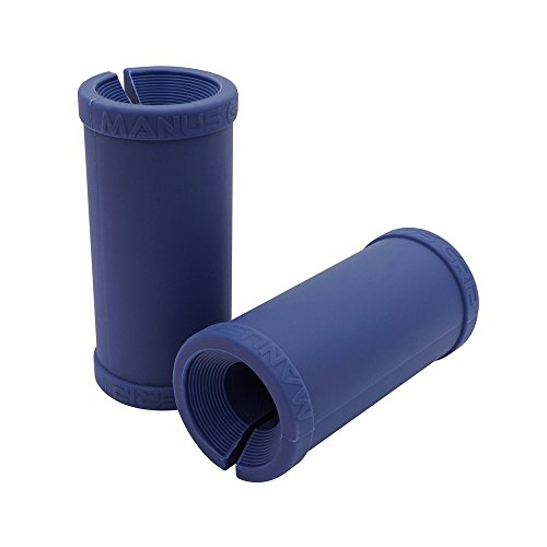 Joagym Manus Fat Grip - Thick Fat Bar Training Adapter for Muscle Growth and Strength(Blue)