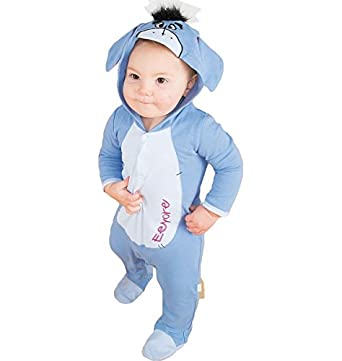 Disney Eeyore Toddler Baby Romper Suit with Hood (9-12 months)  Amazon.co.uk   Clothing 4723f12af
