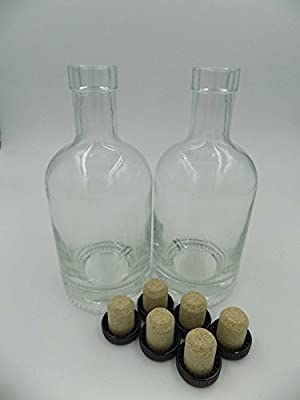 Nordic Bottles (Case of 12) with Corks