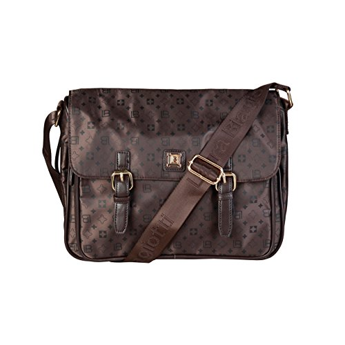 £119 Designer Laura Women Brown 00 Genuine Body Bag Crossbody Cross RRP Bag Biagiotti TqPwx0qar