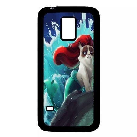 [Samsung Galaxy S5 MINI Anti Slip Casing for Grumpy Cat] (Night Fury Costume For Cat)