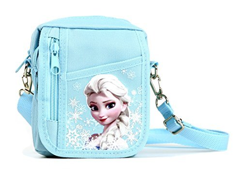 Disney Frozen Detachable Lanyard Messenger Shoulder Bag (SNOW BLUE) -