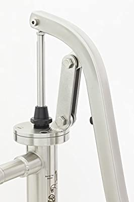 Bison Pumps Stainless Steel Shallow Well Utility Water Hand Pump