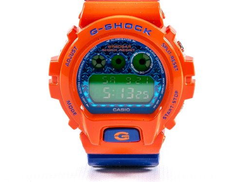 Casio G Shock DW6900SC 4CR Crazy Orange