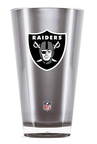 Duck House NFL Oakland Raiders 20oz Insulated Acrylic (Raiders Tumbler)