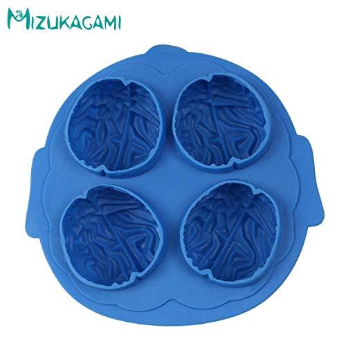 1 piece Halloween Series 3D Brain Styling Chocolate Mold Fondant Cake Mold Food Grade Silicone Mold DIY Kitchen Baking Tools -