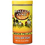 OmegaSea Food 53461 Med. Goldfish Pellets, 8 oz, 1 Can