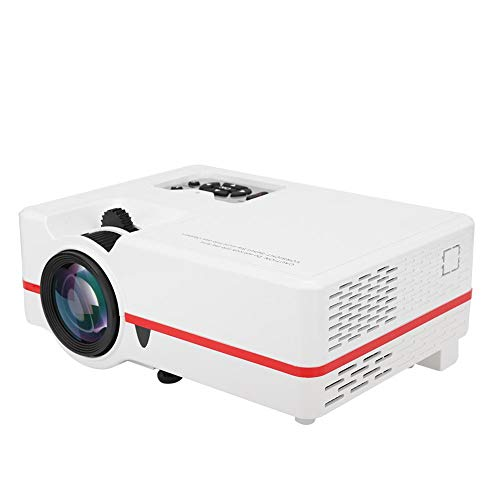Vbestlife Mini 1080P Projector Home Theater, VS313 Micro LED HD Video Projector with Remote Control with HD/TF Card/USB/Computer/Video/Audio/TV Ports (110-240V)(US Plug) from Vbestlife