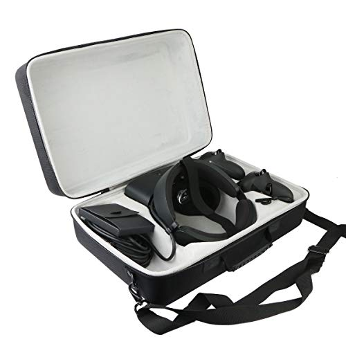 Khanka Hard Travel Case Replacement for Oculus Rift S PC-Powered VR Gaming Headset