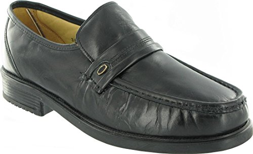 Male-Amblers Charles Mens Black Shoe Size 6 (EU, UK, US 6.5 39.3