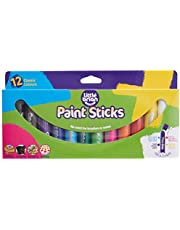 Brian Clegg LBPS10CA12 Paint Sticks colors-12, Assorted Classic, Pack of 12