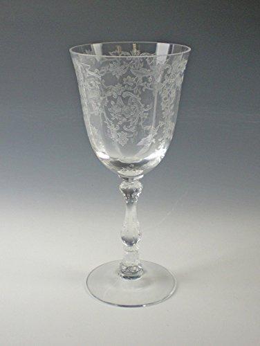Fostoria NAVARRE-CLEAR Lg.Claret Wine Glass(es) Excellent
