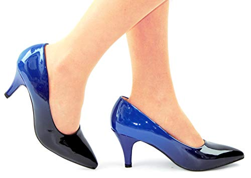 Marine Danse de Salon Bleu Boutique Box Femme Bleu Shoe ERwfO8qxn