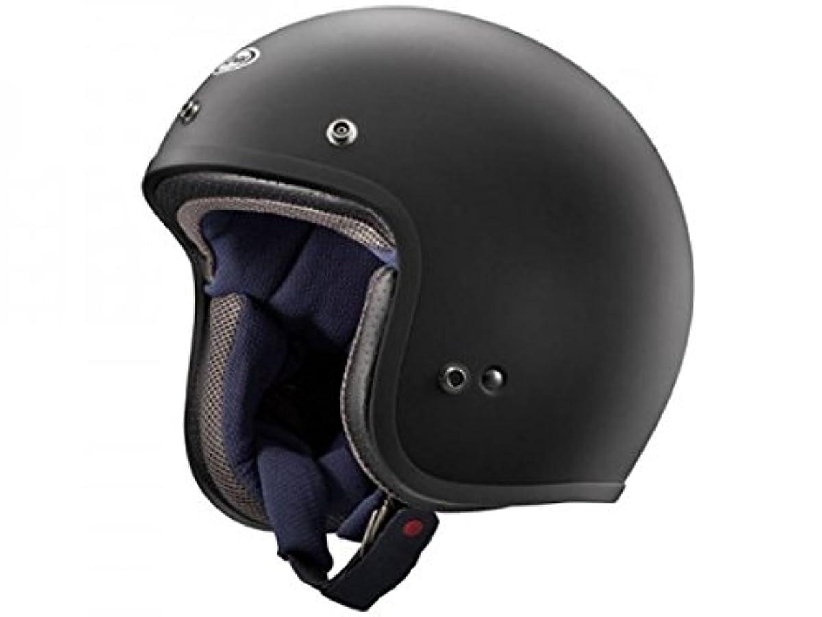 [해외] 아라이 오토바이 헬멧 제트 CLASSIC MOD 러버 블랙 XL 머리위 61CM~62CM