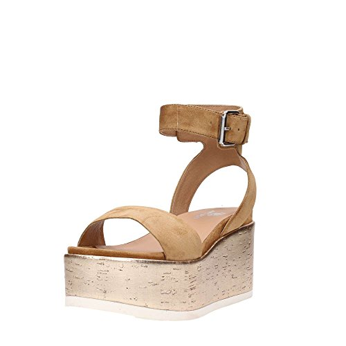 Damen 41837 Sandale Sport Leder Janet X8vqZO8