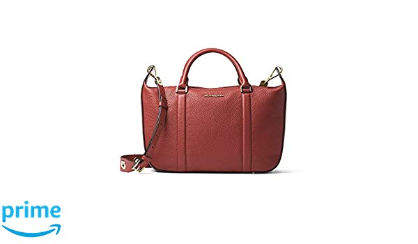 91fc73f84e95 Michael Kors Raven Large Satchel in Brick at Amazon Women's Clothing store: