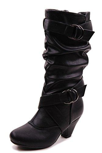 5d8c82c57f3 Jual Link Little Girl s Pauline-38 Kitten Heel Boots With Decorative ...