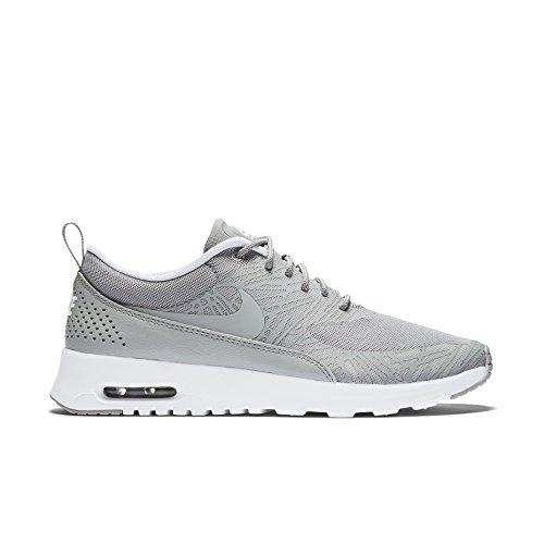 Nike Air Max Thea 599409 Damen Laufschuhe, Grau/Weiß