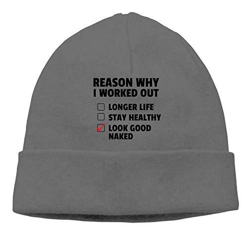 hrismas Holiday Hip-Hop DeepHeather Beanies Skull Hat ()