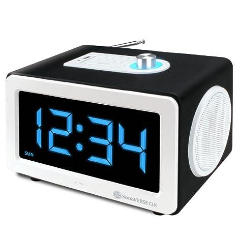 Amazon.com: Gogroove SonaVERSE CLK Reloj despertador sistema ...