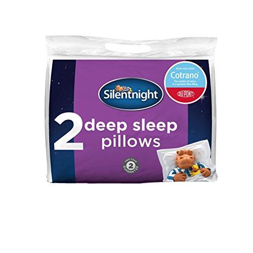 Silentnight Deep Sleep Pillow Pair with DuPont - White