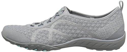 Skechers Sport Women's Breathe Easy Fortune Fashion Sneaker,Grey Knit,5 M US by Skechers (Image #5)