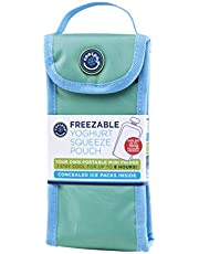 Freezable Cooler Pouch for Yoghurt Squeeze