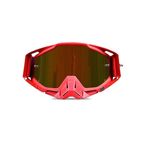 Lunettes De Moto Hors Route Lunettes De Course En Plein Air équitation Protection Oculaire Lunettes De Ski Lunettes De Ski C