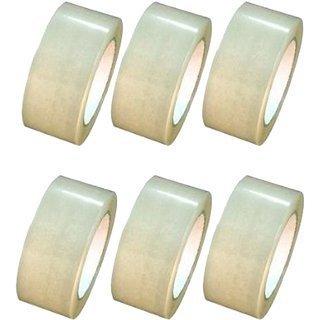 Aviyansh Enterprises Self Adhesive Bopp Tape Sealing Tapes Pack Of 6