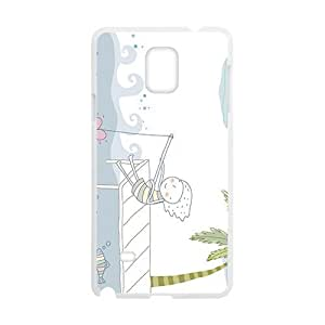 Cartoon Fishing Love Heart White Phone Case for Diy For Iphone 6Plus Case Cover