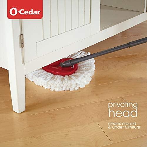 health, household, household supplies, cleaning tools,  mopping 8 image O-Cedar EasyWring Microfiber Spin Mop, Bucket Floor promotion