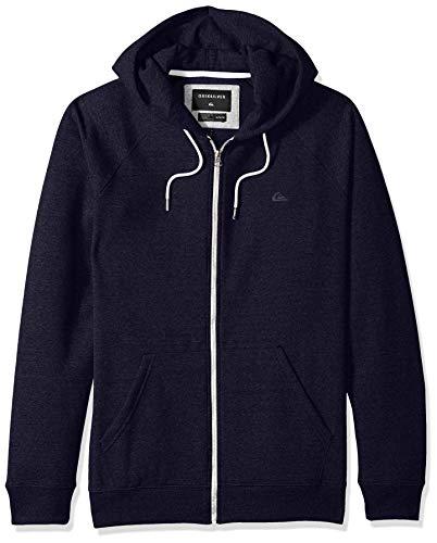Quiksilver Men's Everyday Zip Fleece, Navy Blazer, S