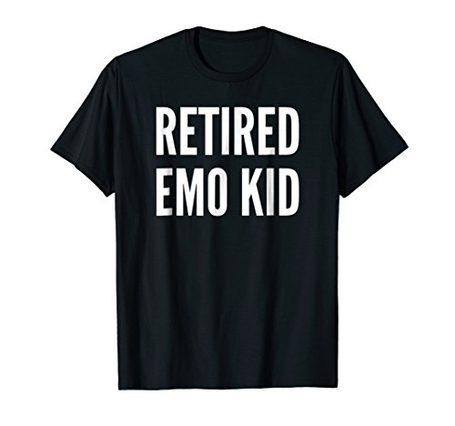 Retired Emo Kid T-shirt Funny Emo Phase Gift T shirt
