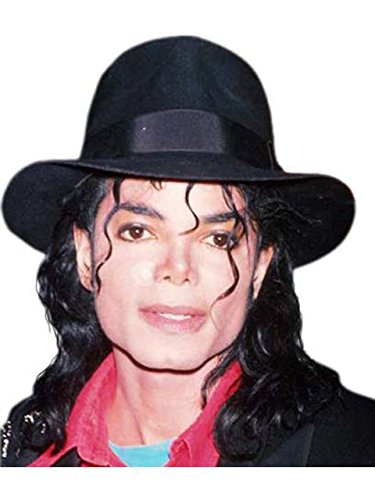 [Michael Jackson Black Fedora for Adults] (Michael Jackson Black Or White Costume)