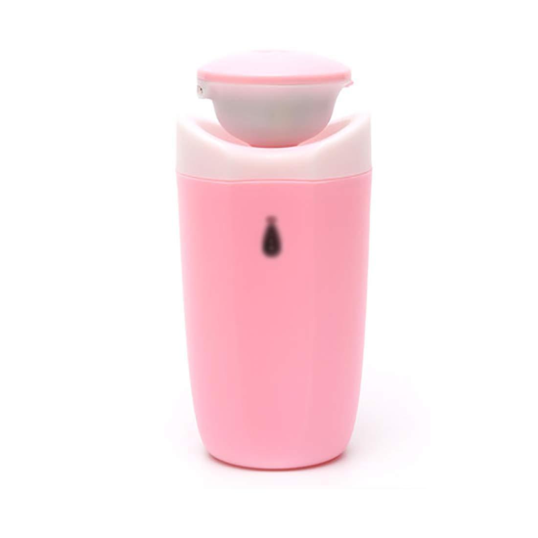 Zhi lian& 加湿器の家庭の寝室のリビングルームのオフィス超音波ミュート空気加湿器古典的な列の香りランプ噴霧器 (色 : Purple) B07MWTJNSM Pink Pink